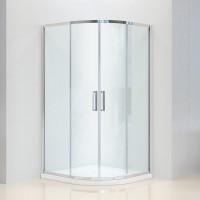 Душевая кабина Dusel Premium Series A-511 100x100x190,стекло прозрачное