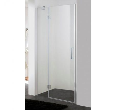 Душевая дверь в нишу Eger 599-701 100x195, прозрачное стекло 6мм