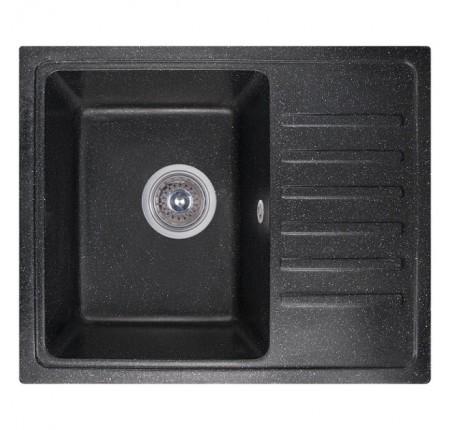 Мойка для кухни Fosto 55x46 SGA-420 (черный)