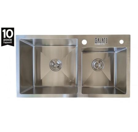 Мойка для кухни Galati Arta U-700D 750x430mm