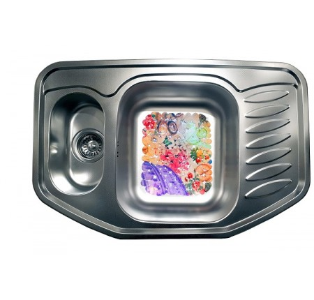 Мойка для кухни Galati Rampa 1.5C Textura 780x510mm