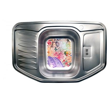 Мойка для кухни Galati Rampa Satin 780x510mm