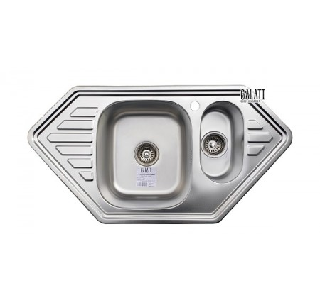 Мойка для кухни Galati Meduza 1.5C Satin 950x500mm