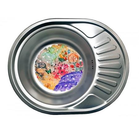 Мойка для кухни Galati Taleyta Textura 570x450mm