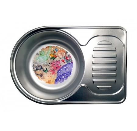 Мойка для кухни Galati Luca Satin 670x450mm