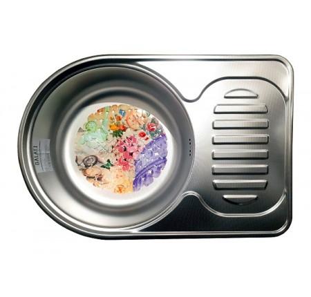 Мойка для кухни Galati Luca Textura 670x450mm