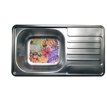 Мойка для кухни Galati Milana Satin 760x420mm