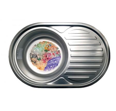 Мойка для кухни Galati Dana Nova Satin 770x500mm