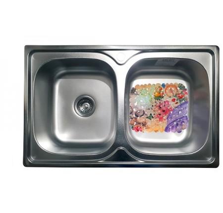 Мойка для кухни Galati Fifika 2C Satin 780x480mm