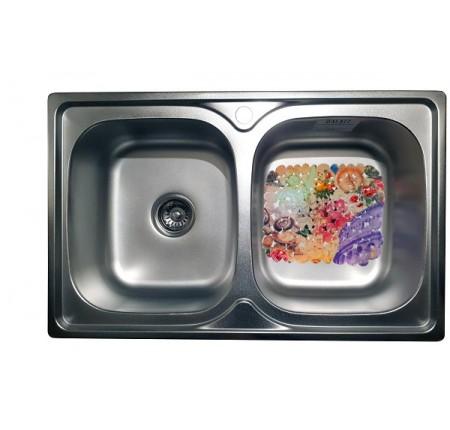 Мойка для кухни Galati Fifika 2C Textura 780x480mm