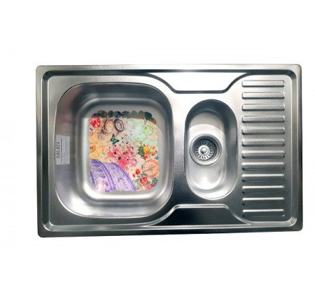 Мойка для кухни Galati Petrika Satin 780x500mm