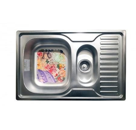 Мойка для кухни Galati Petrika Textura 780x500mm