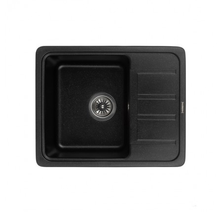Мойка для кухни Granado Alanis Black shine 574х460mm