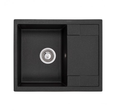 Мойка для кухни Granado Altea Black Shine 610х500mm