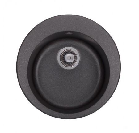 Мойка для кухни Granado Vitoria Black Shine D-510mm