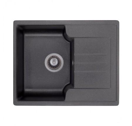 Мойка для кухни Granado Avila Black Shine 610х500mm