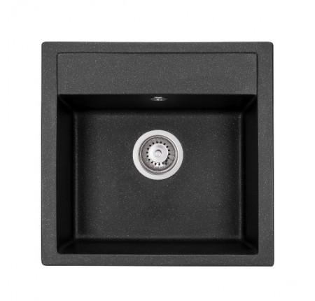Мойка для кухни Granado Merida Black Shine 496х480mm