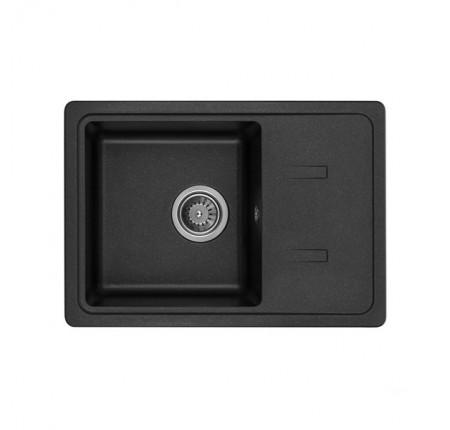 Мойка для кухни Granado Palma Black shine 620х435mm