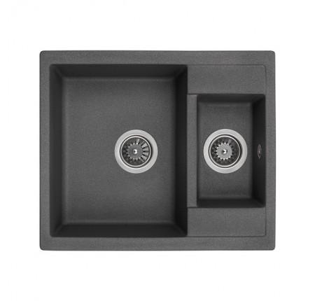 Мойка для кухни Granado Samora Black Shine 610х500 mm