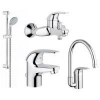 Набор для ванной комнаты Grohe Euroeco 123242K