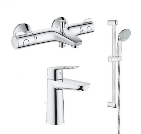 Набор для ванной комнаты Grohe GRT800+BauLoop 34550TM