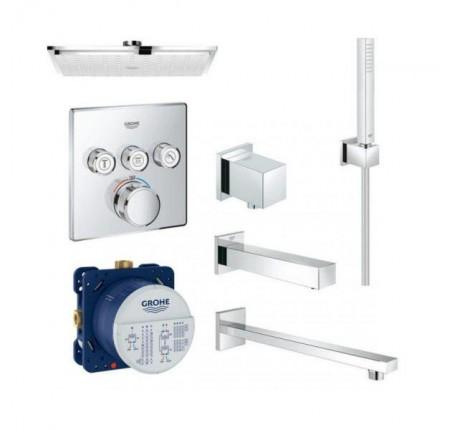 Набор для ванной комнаты Grohe EX SmartControl 34506SC2 на 3 потребителя