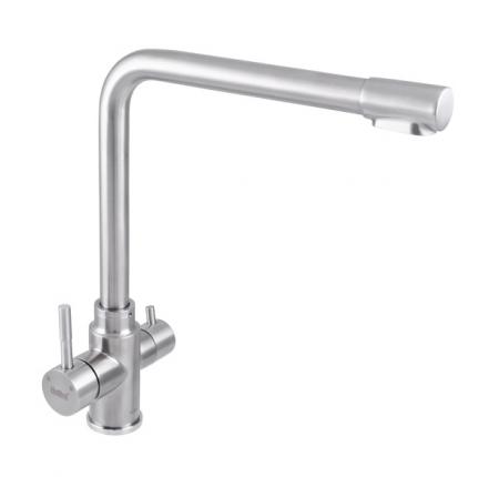 Смеситель для кухни Haiba SUS 021 с выходом для питьевой воды (HB3908)