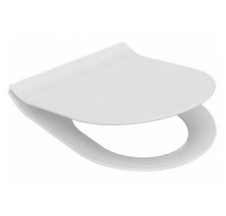 Сиденье с крышкой Idevit  Alfa Soft Close Slim (53-02-06-007)