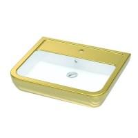 УмывальникIdevit Halley (3201-0455-1101) декор золото 45x60cм