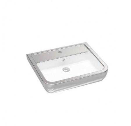 УмывальникIdevit Halley (3201-0455-12) серебро 45x60cм
