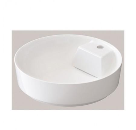Умывальник Idevit Slim Round (6001-1485) 48x48cм