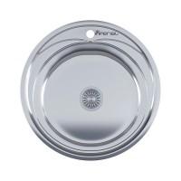 Мойка для кухни Imperial 490-A (0,6мм) Satin 160 mm