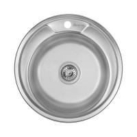 Мойка для кухни Imperial 490-А (0,6мм) Decor 160 mm