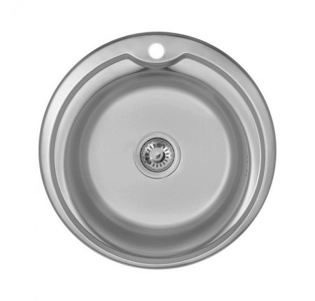Мойка для кухни Imperial 510-D (0,6мм) Decor 160 mm