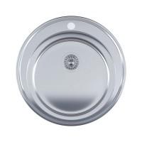 Мойка для кухни Imperial 510-D (0,6мм) Satin