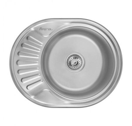 Мойка для кухни Imperial 6044-5745 (0,6мм) Decor 160 mm