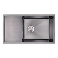 Мойка для кухни Imperial D7844BL PVD black Handmade 3.0/1.2 mm