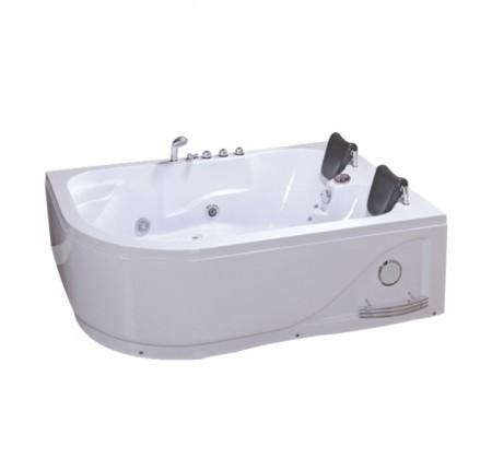 Ванна асимметричная с гидромассажем Iris TLP-631R 180x120