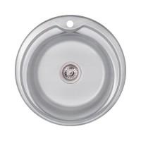 Мойка для кухни Lidz 510-D 0.6мм Decor (180)