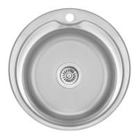 Мойка для кухни Lidz 510-D 0.8мм Decor (180)