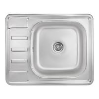 Мойка для кухни Lidz 6350 0.8мм Micro Decor (180)