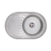 Мойка для кухни Lidz 7750 0.6мм Polish (160)