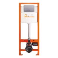 Скрытая инсталляция для унитаза Q-tap Nest M425-M08SAT клавиша Satin