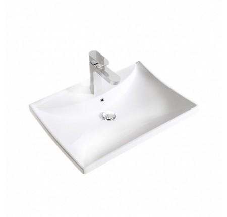 Умывальник Rea Caprise 42x59 белый (REA-U0001)