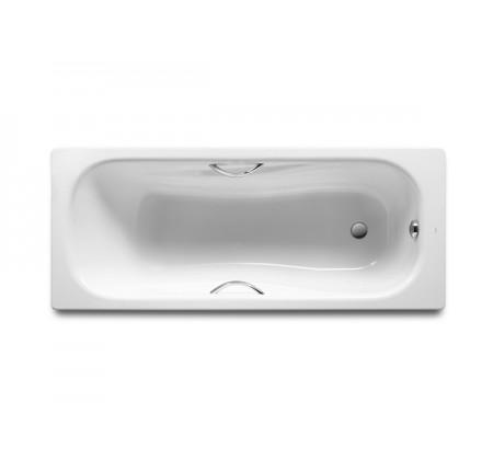 Ванна стальная Roca Princess A220370001 160x75 с ручками, без ножек
