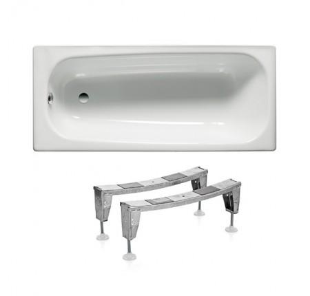 Ванна стальная Roca Contesa A235960000 160x70, с ножками