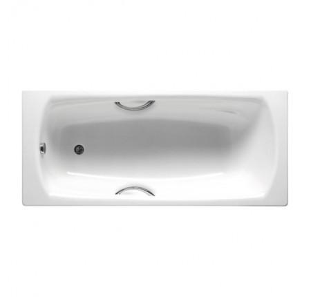Ванна стальная Roca Swing A220070001 180x80, с ручками, без ножек