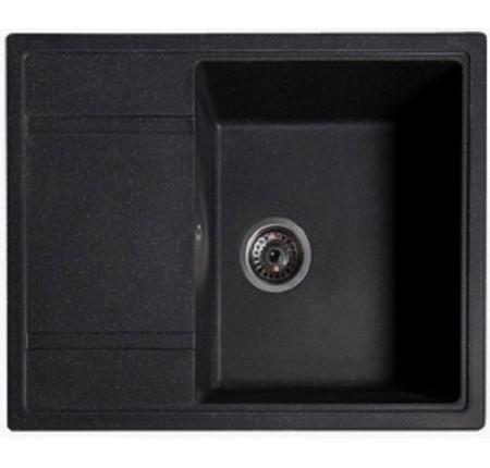 Мойка для кухни Solid Оптима (антрацит) 650x510mm