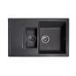 Мойка для кухни Solid Практик (чёрный) 780x510mm