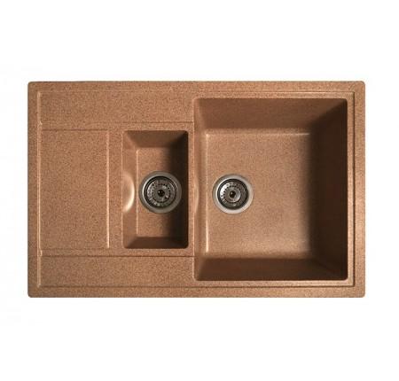 Мойка для кухни Solid Практик (терракот) 780x510mm